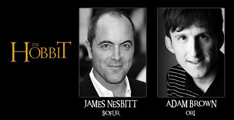 Бофура сыграет Джеймс Несбитт (James Nesbitt), а Ори - Адам Браун (Adam Brown)
